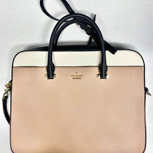 "Kate Spade 13"" Laptop Bag Pink White"